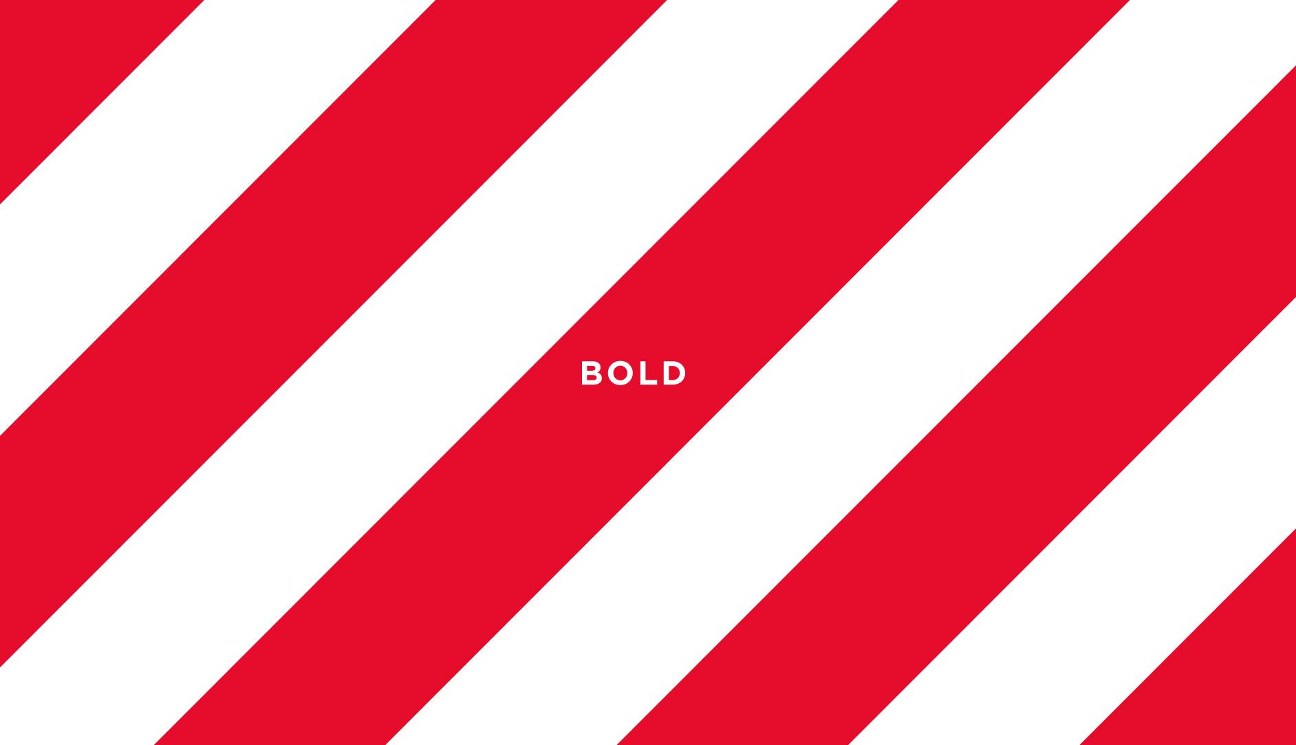 Fazer brand strategy - Bold